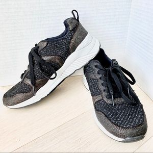 PRIMARK Metallic Black Limited Edition Sneakers